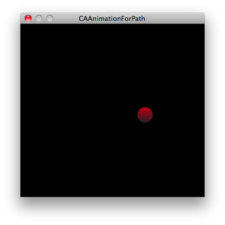 CAAnimationForPath